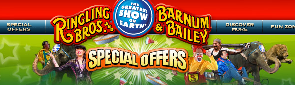 Free ticket to the circus