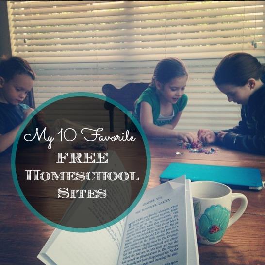 My Top 10 Favorite Free Homeschool Sites