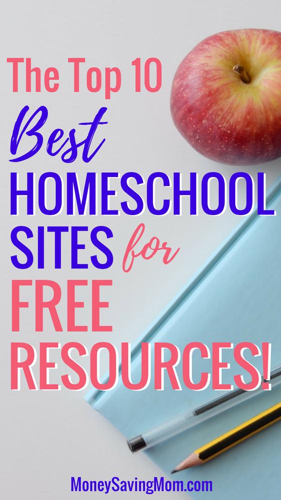 My Top 10 Favorite Free Homeschool Sites - Money Saving Mom