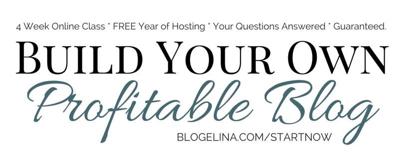 Build Your Own Profitable Blog