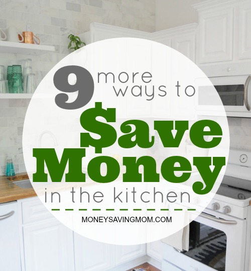 ways to save more in the kitchen