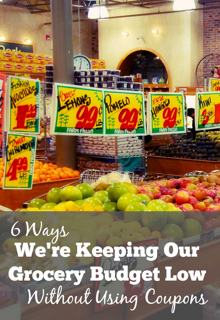 6 Ways We're Keeping Our Grocery Budget Low Without Using Coupons