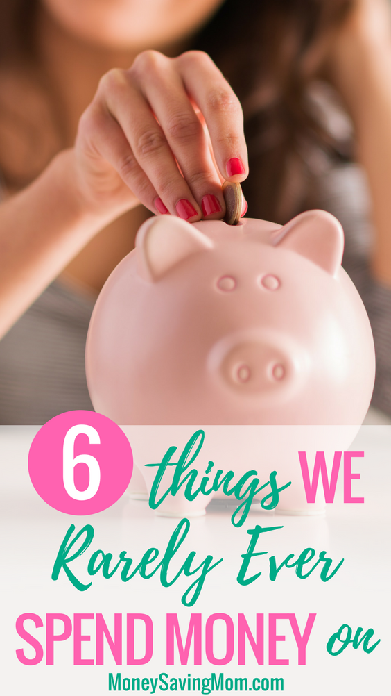 Do you spend money on these 6 things? You probably don't have to!