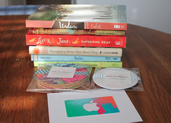 Enter to win this stack of books...