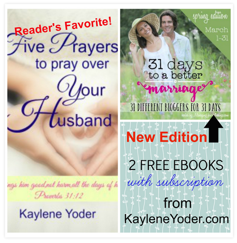 Free ebook: 31 Days to a Better Marriage