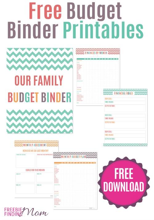 Free Budget Binder Printables - Money Saving Mom®