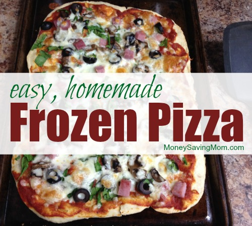 How We Use Crystal S Pizza Dough Recipe To Make Easy Frozen Pizza