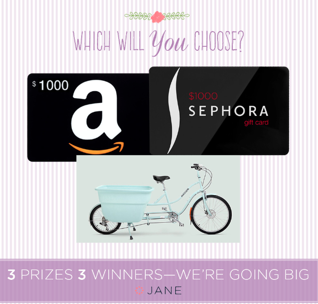 Enter to win $1000 Amazon gift card from Jane.com!