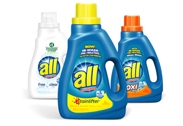 ALL Laundry Detergent for 1.99 at Walgreens