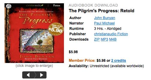 Free download of The Pilgrim's Progress