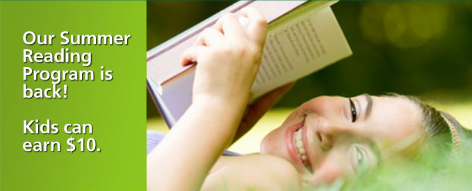 Kids Can Earn $10 from TD Bank for Reading 10 Books This Summer!
