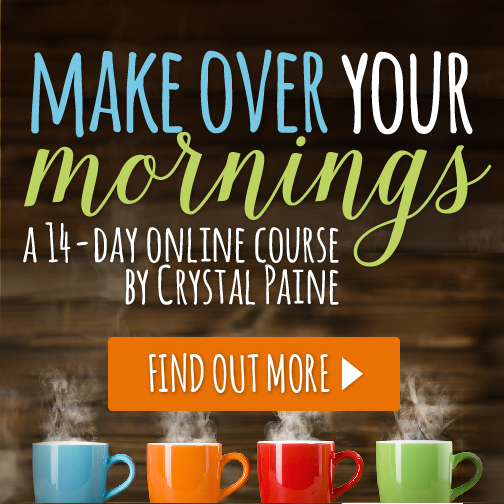 Do struggle with getting your mornings in order? Are you tired of meltdowns, not being able to find your car keys, or forgotten appointments? Do you wish you makeover your mornings to live your best life? Here's how!