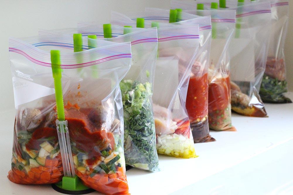 crockpot freezer meals healthy
