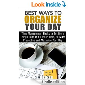the best way to organize your day