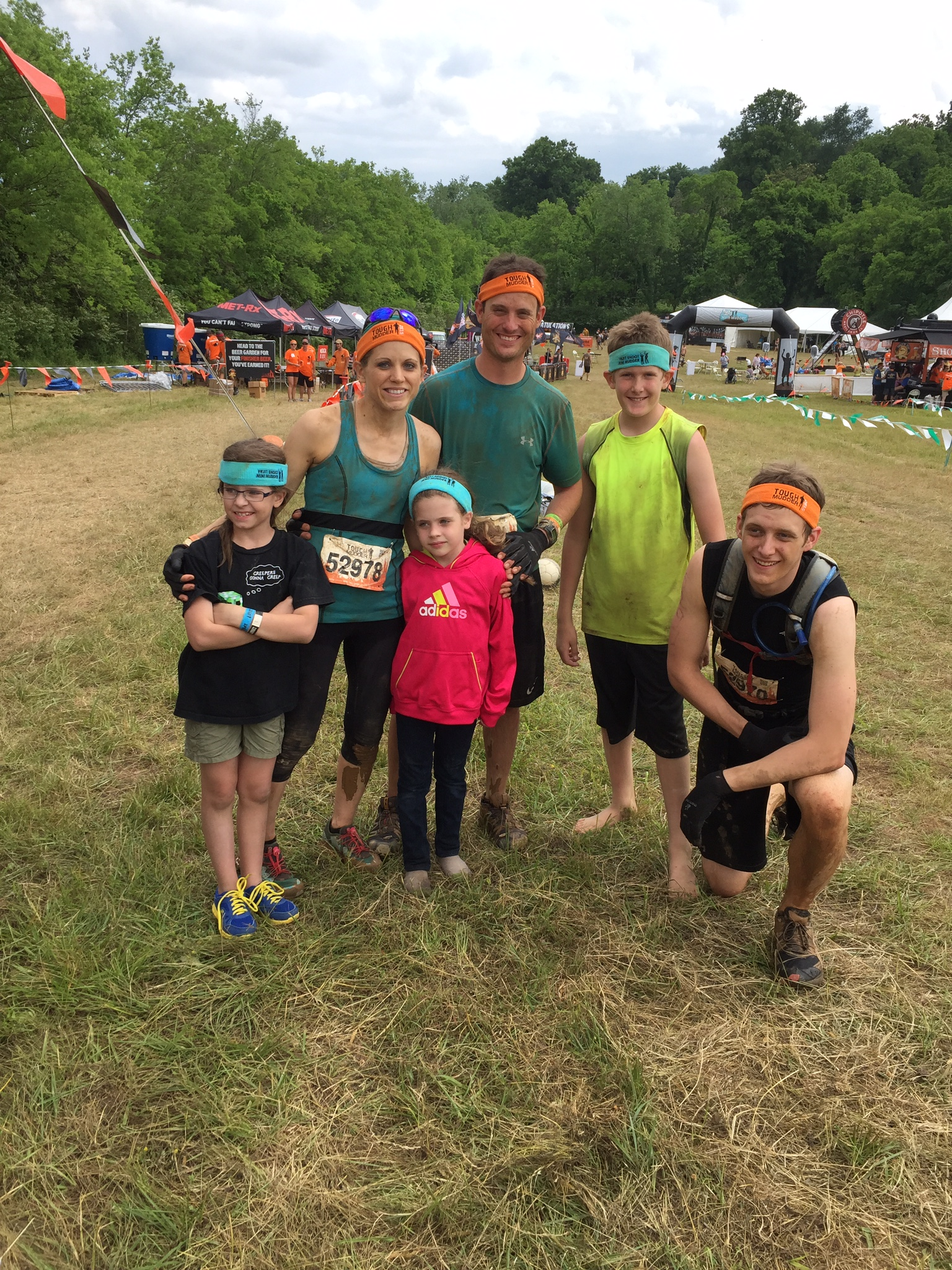 My First Tough Mudder Race
