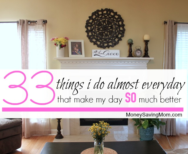 33 things I do every day (1)