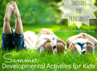 Free Summer Developmental Activites for Kids
