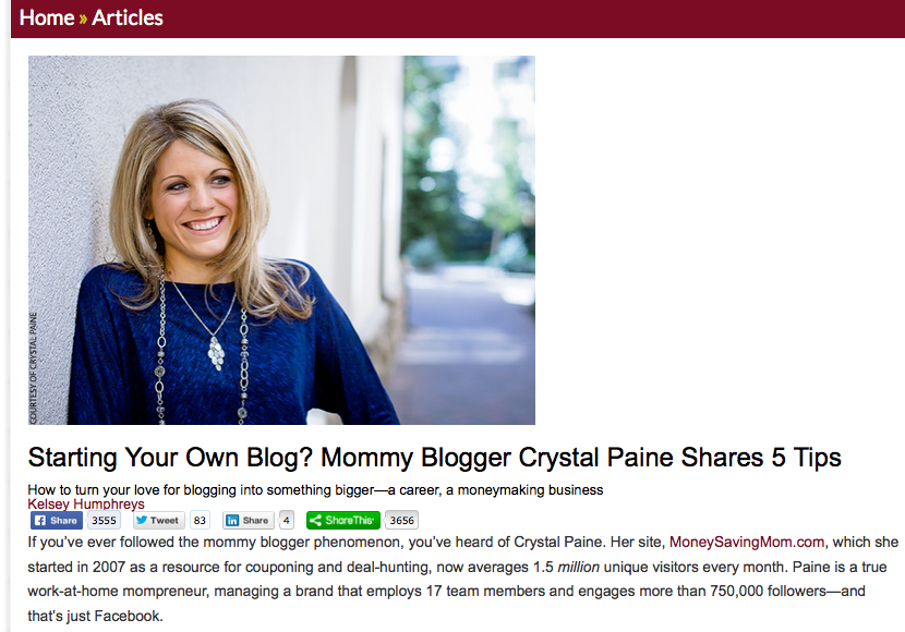 My Top 5 Tips for Successful Blogging