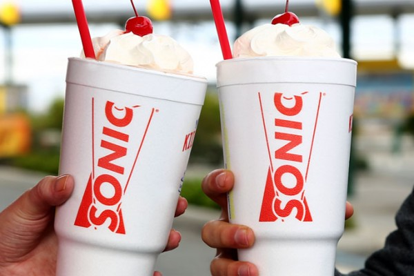 Sonic: Half Priced Shakes on October 11, 2017