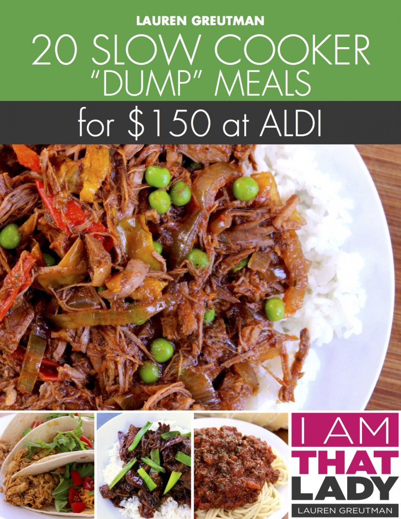 "Slow cooker freezer meals are a must for any busy family, working professional and for the budget-savvy home cook. Often referred to as ""dump meals"" or ""dump bags"", what makes it easy, is that you thaw and simply dump the contents of your freezer bag into your Crockpot."