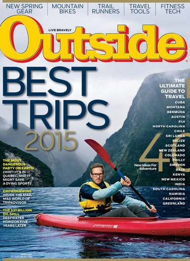 Get a one-year subscription to Outside Magazine for just $4.99 right now!