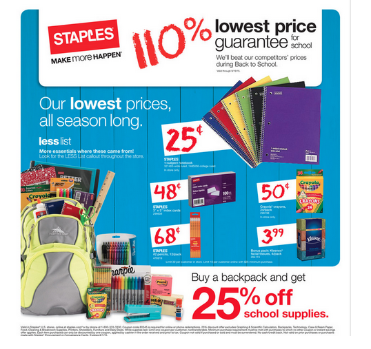 The best back to school deals at Staples this week