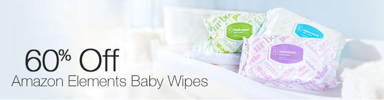 Amazon Wipes for $0.65 per package