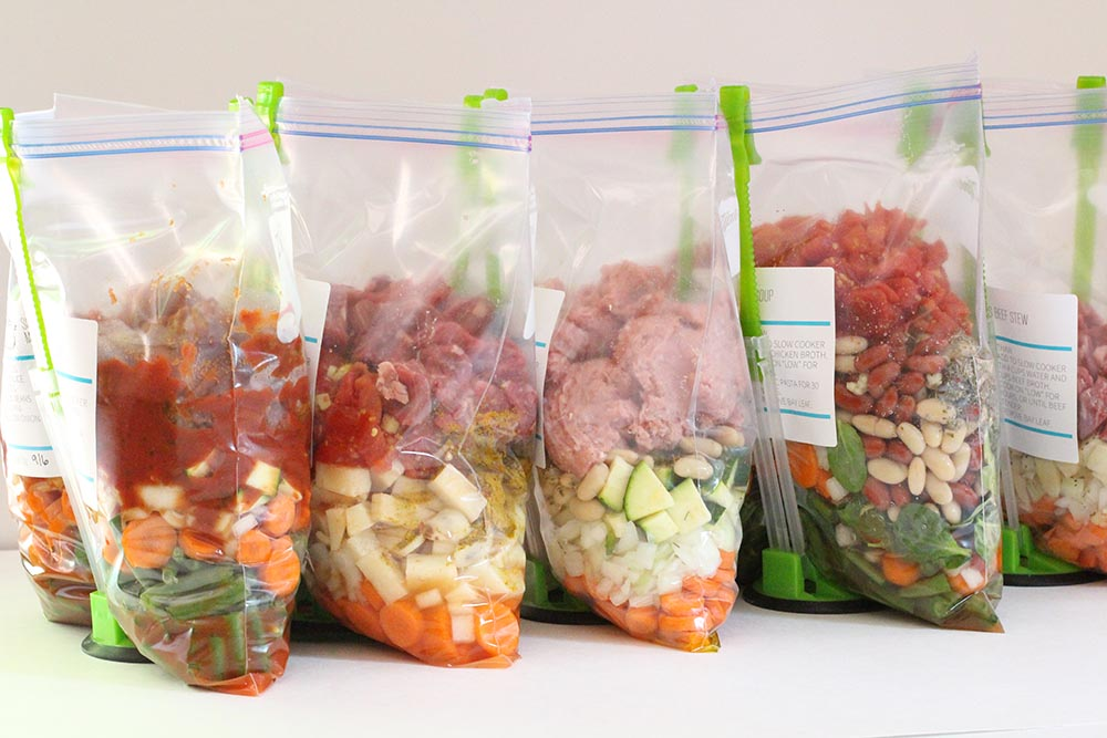 Tips-and-Tricks-For-a-Big-Freezer-Meal-Prep-Day-assembly-line