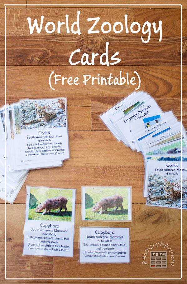 World-Zoology-Cards-by-ResearchParent