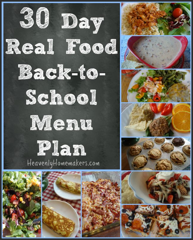 30-Day-Real-Food-Back-to-School-Menu-Plan