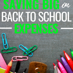 Save BIG on back to school expenses with these simple tips!!