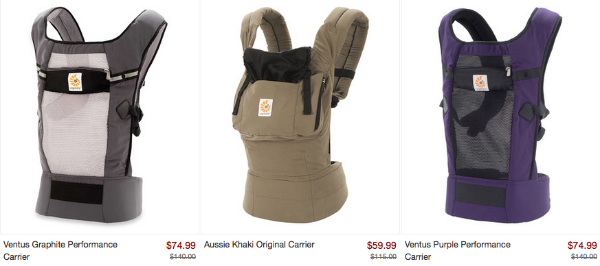 Zulily Ergo Baby Carrier For 59 Shipping Money