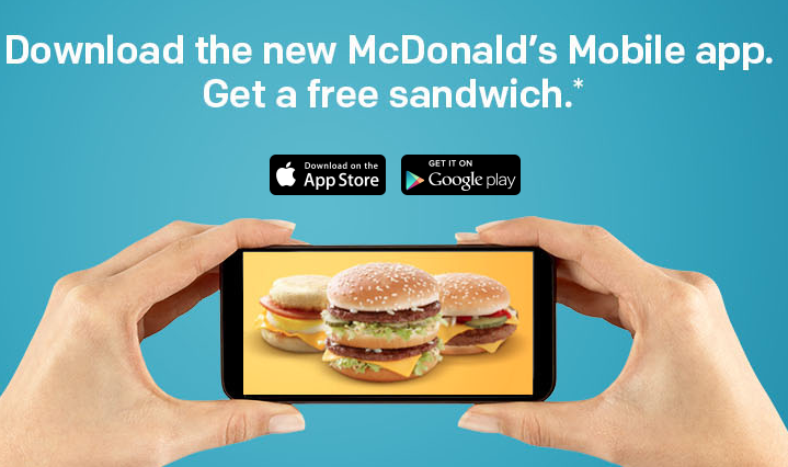 Free McDonald's Breakfast or Regular Sandwich