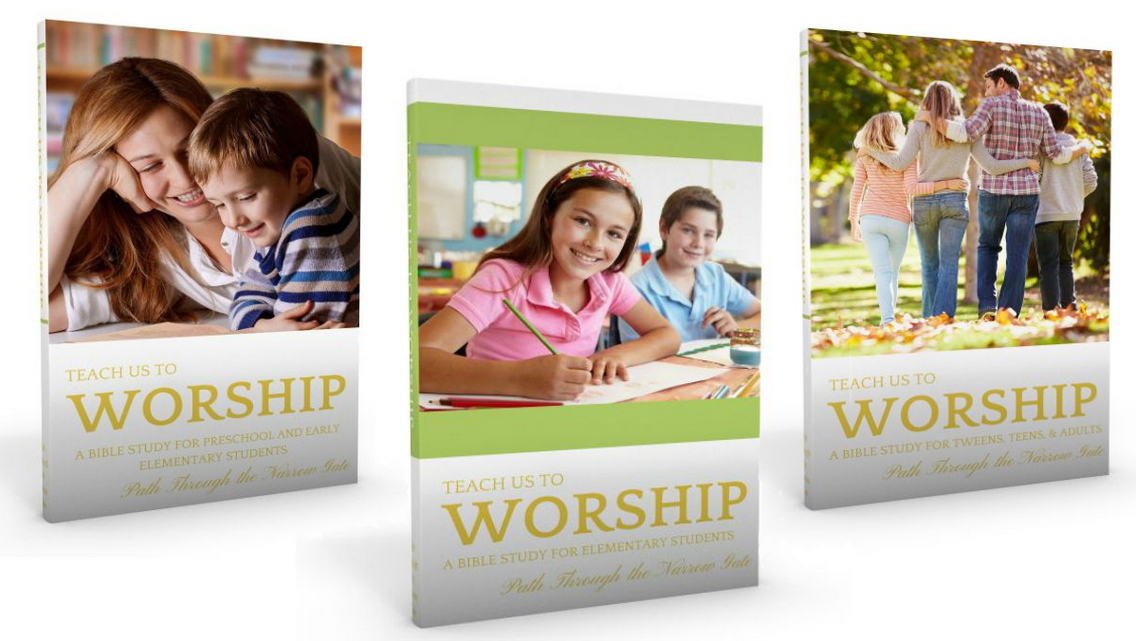 Free Teach Us to Worship Bible Study