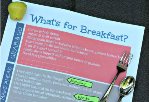 What's For Breakfast (free printable)