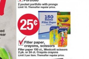 KMart Crayola Crayons for $0.25 per box