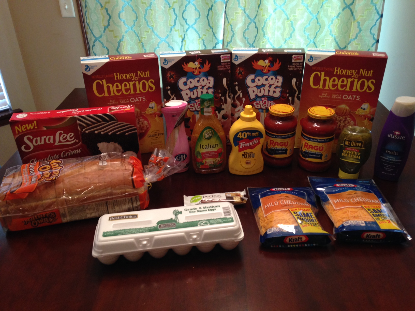 Gretchen's $33 Grocery Shopping Trip and Weekly Menu Plan