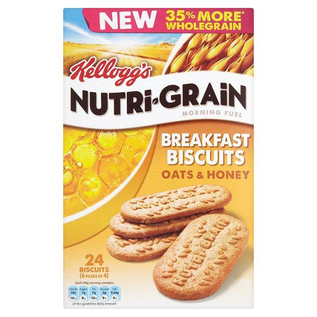 Kellogg's Nutri-Grain Breakfast Biscuits Deal