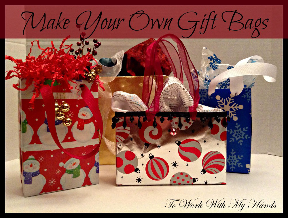 Do it yourself make your own christmas gift bags money Do it yourself christmas gifts