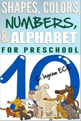 shapes number for preschoolers