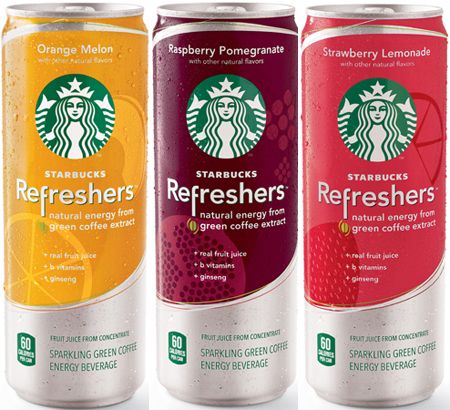 Get Starbucks Refreshers for just $0.50 at Walmart right now!