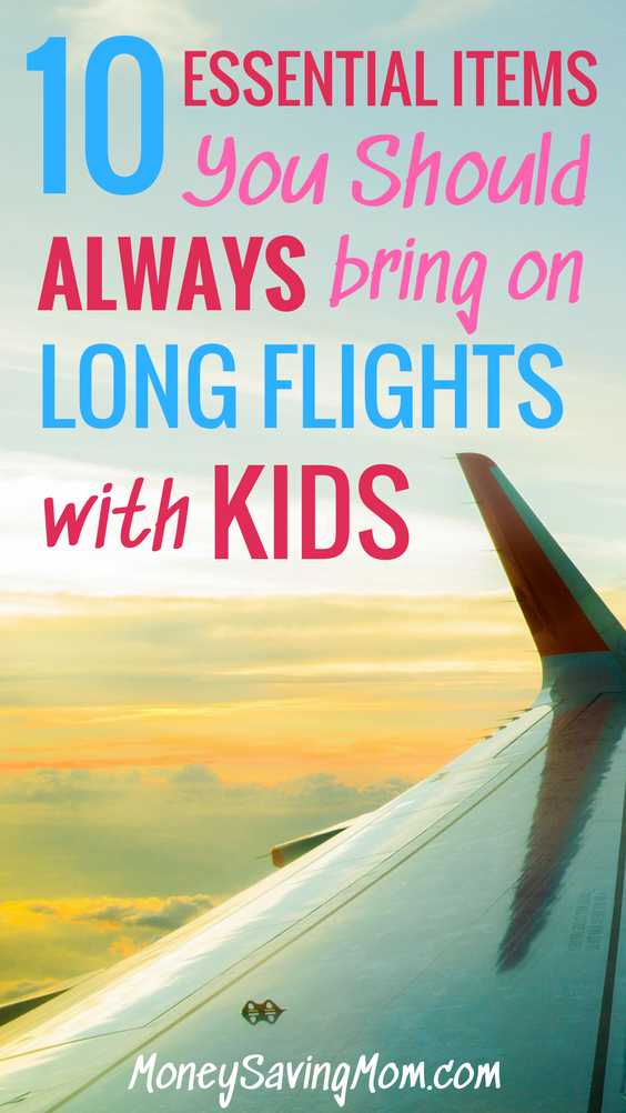 This list of 10 items to bring when you travel with kids is a MUST-read from an experienced traveler! Some of these are probably things you've never thought of before!