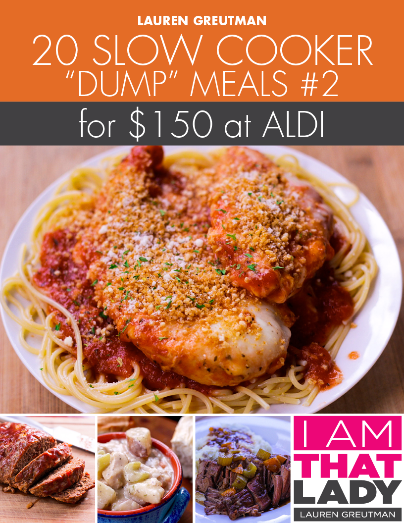 20 Slow Cooker Dump Meals from Aldi