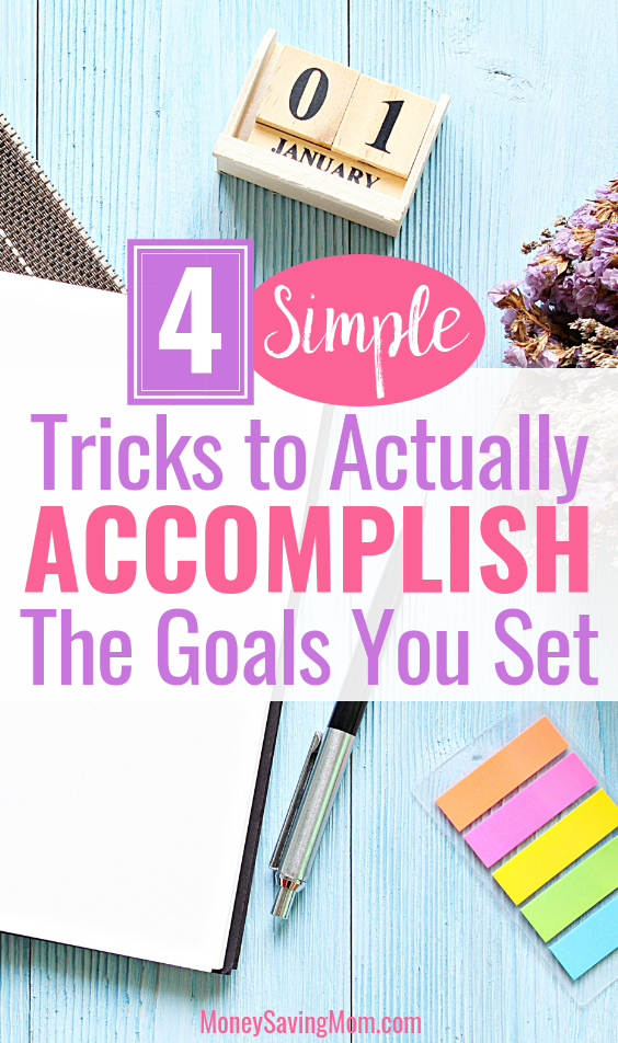 Do you constantly set goals that you can't seem to finish? Read this for practical advice!!