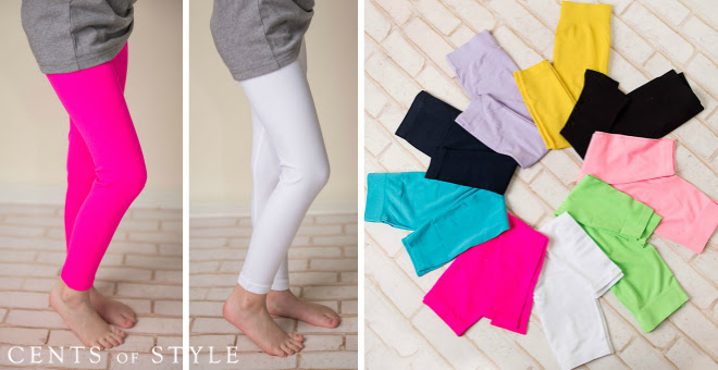 Cents of Style Girls Leggings Deal