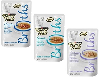 Free Fancy Feast Broths Cat Food Sample - Money Saving Mom®