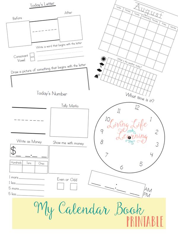 Calendar Book Printable : Free my calendar book printable money saving mom