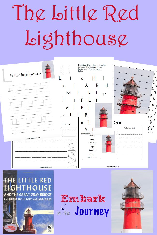 Free The Little Red Lighthouse Printable