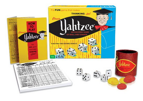 Classic Yahtzee Game Deal