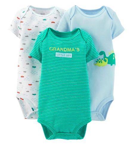 Carter's Newborn Boys Bodysuit Set Deal